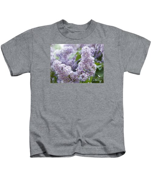 Spring Lilacs In Bloom Kids T-Shirt