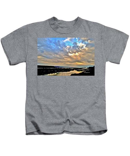 Spring Rain Kids T-Shirt