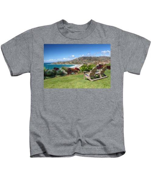 Springtime At Salt Creek Beach Kids T-Shirt