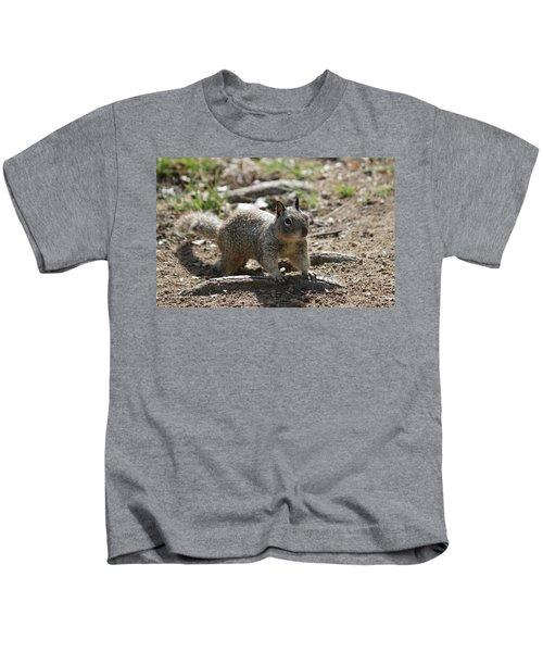 Squirrel Play  Kids T-Shirt