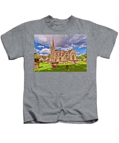 St Cyriac Church Lacock Kids T-Shirt