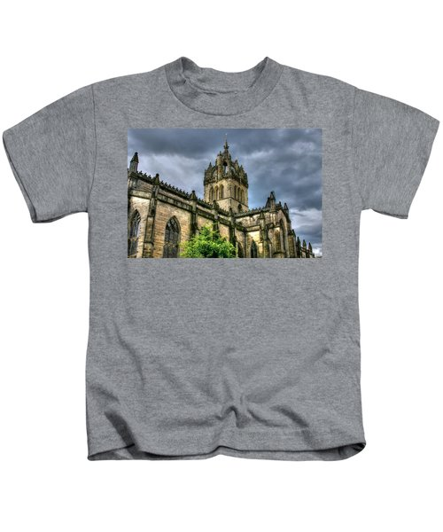 St Giles And Tree Kids T-Shirt