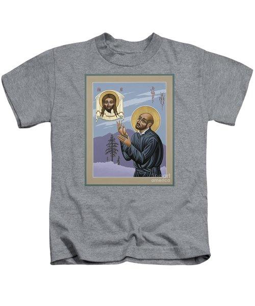 St. Ignatius Amidst Alaska 141 Kids T-Shirt