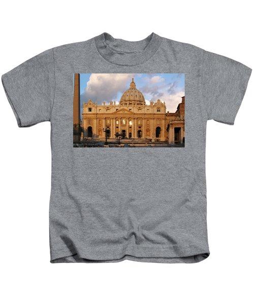 St. Peters Basilica Kids T-Shirt