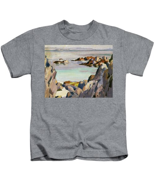 Staffa And Rhum From Iona Kids T-Shirt