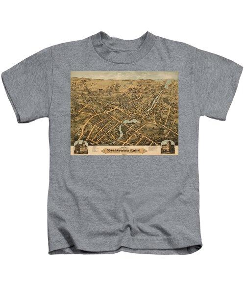 Stamford Connecticut 1875 Kids T-Shirt