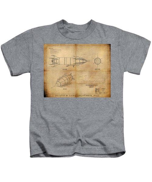 Steampunk Zepplin Kids T-Shirt