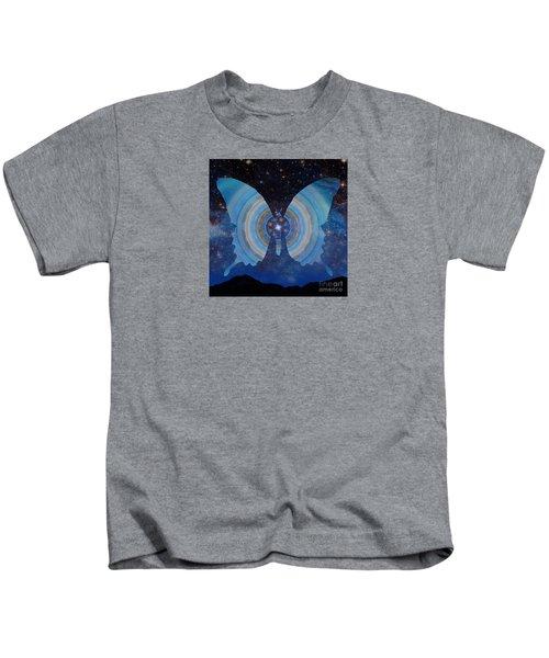 Stellar Butterfly Kids T-Shirt