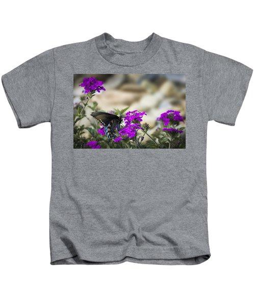 Still Beautiful Swallowtail Kids T-Shirt