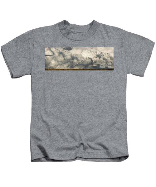 Storm And Sagebrush Desert  Kids T-Shirt