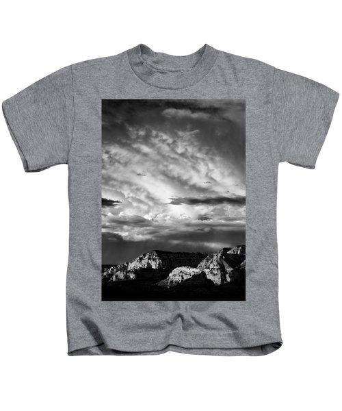 Storm Over Sedona Kids T-Shirt
