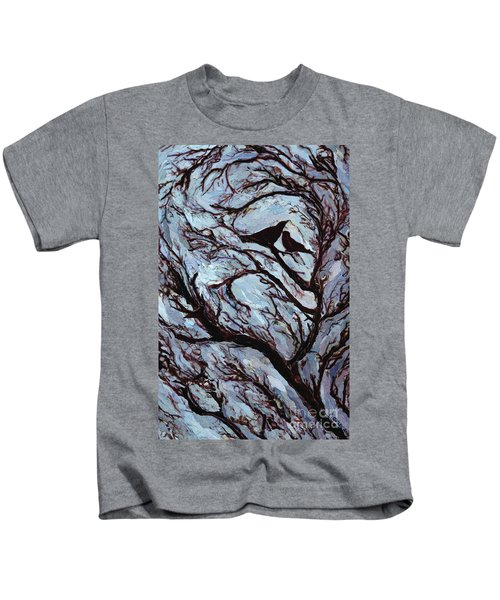 Stormy Day Greenwich Park Kids T-Shirt