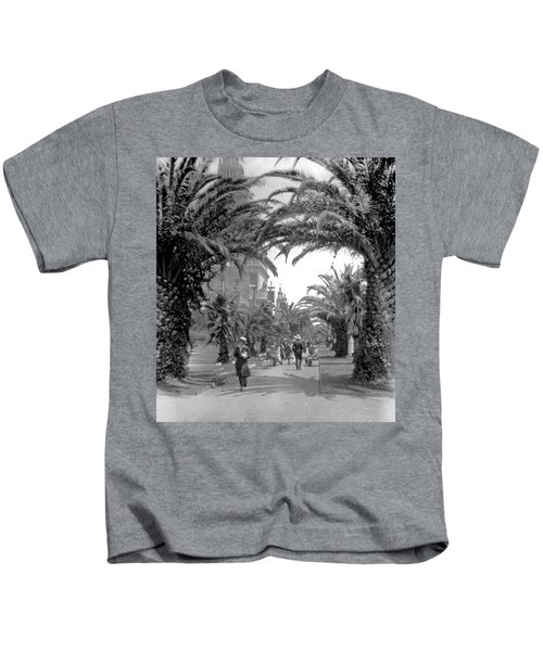 Avenue Of The Palms, San Francisco Kids T-Shirt