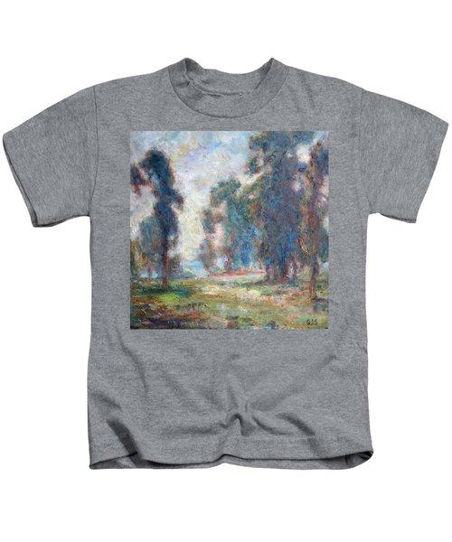 Study Of An Impressionist Master Kids T-Shirt