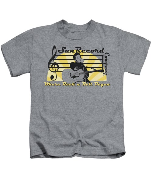Sun - Sun Record Company Kids T-Shirt