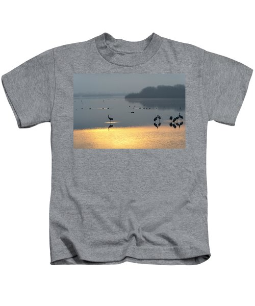Sunrise Over The Hula Valley Israel 1 Kids T-Shirt