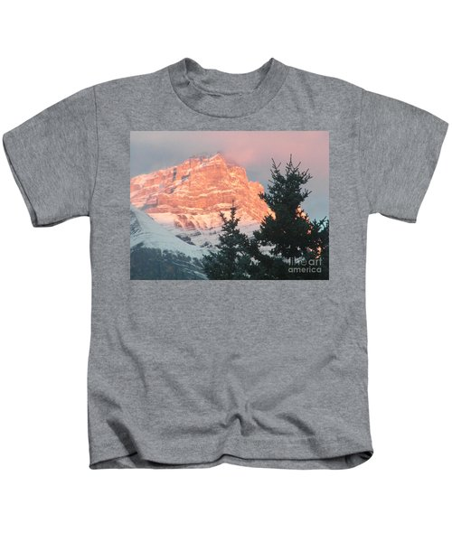 Sunrise On The Mountain Kids T-Shirt