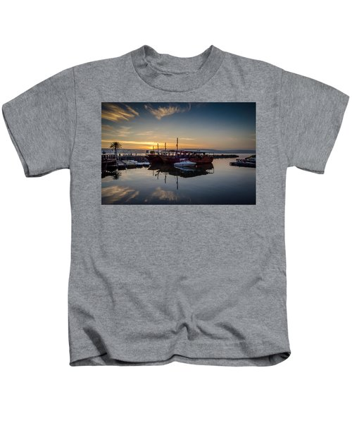 Sunrise Over The Sea Of Galilee Kids T-Shirt
