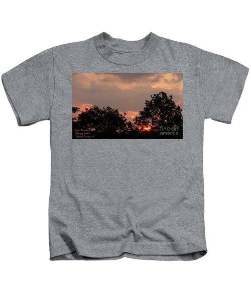 Sunset Sonata 4 H B Kids T-Shirt