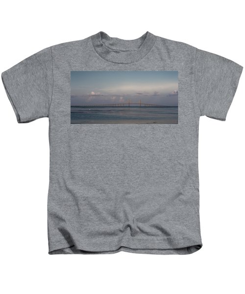 Sunshine Skyway Bridge Kids T-Shirt