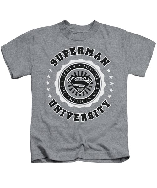 Superman - Superman University Kids T-Shirt