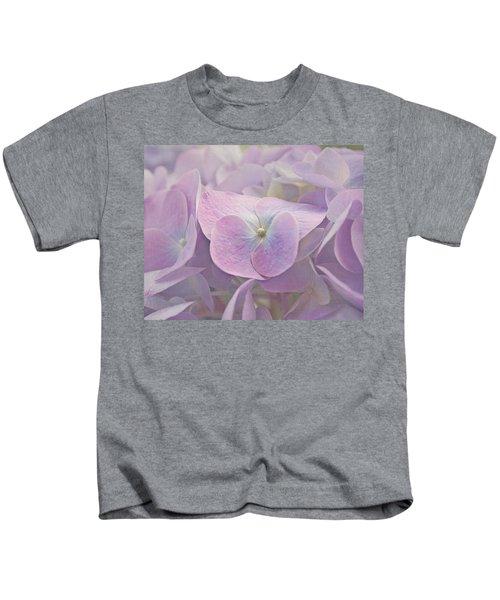Symphony In Purple Kids T-Shirt