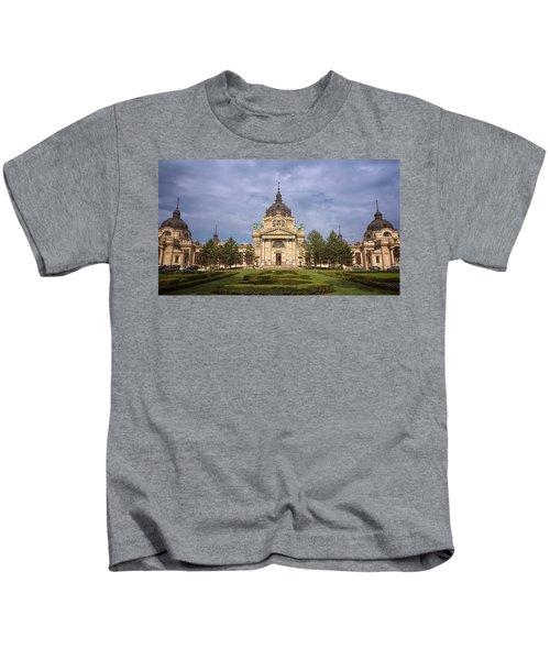 Szechenyi Baths Budapest Hungary Kids T-Shirt