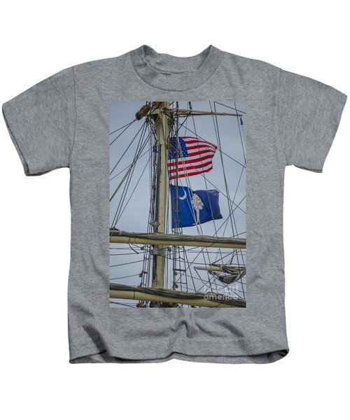 Tall Ships Flags Kids T-Shirt
