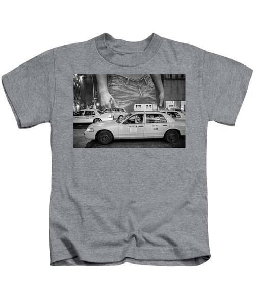 Taxis On Fifth Avenue Kids T-Shirt