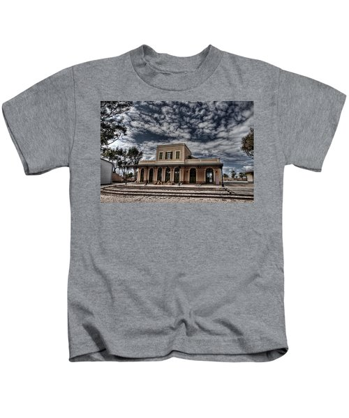 Tel Aviv First Railway Station Kids T-Shirt