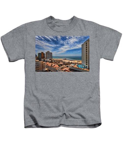 Tel Aviv Summer Time Kids T-Shirt
