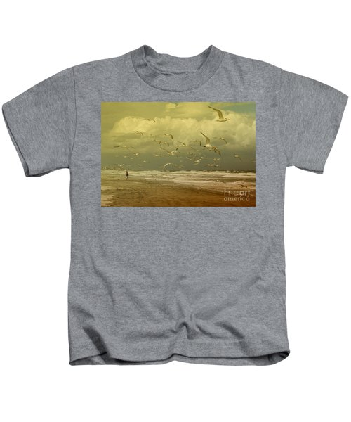 Terns In The Clouds Kids T-Shirt