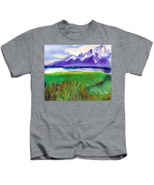 Teton View Kids T-Shirt