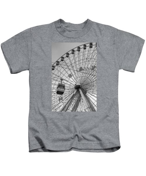Texas Star Ferris Wheel Kids T-Shirt