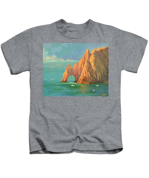 The Arch Of Cabo San Lucas 2 Kids T-Shirt