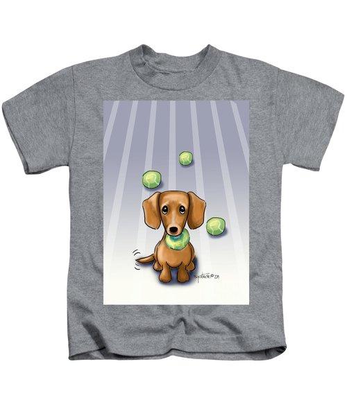 The Ball Catcher Kids T-Shirt