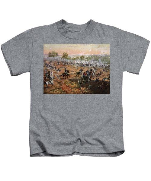 The Battle Of Gettysburg, July 1st-3rd Kids T-Shirt