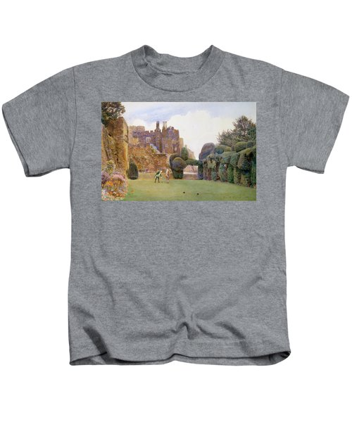 The Bowling Green, Berkeley Castle Kids T-Shirt
