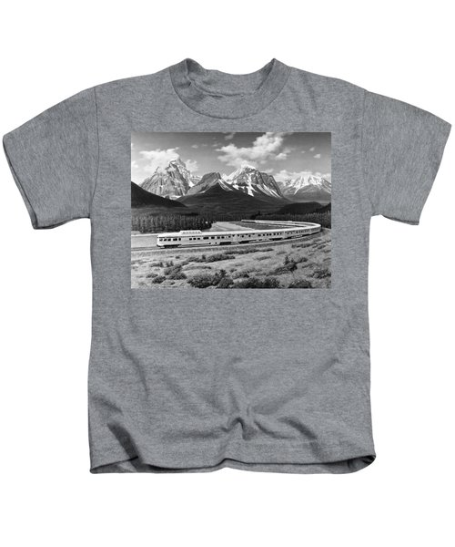 the Canadian Train Kids T-Shirt
