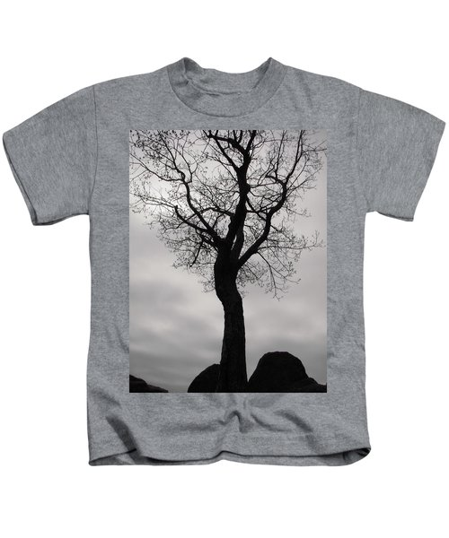 The Chill Of Spring In The Shenandoah Kids T-Shirt