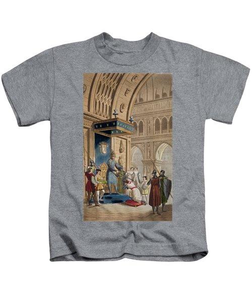The Creating Of A Knight Templar Kids T-Shirt