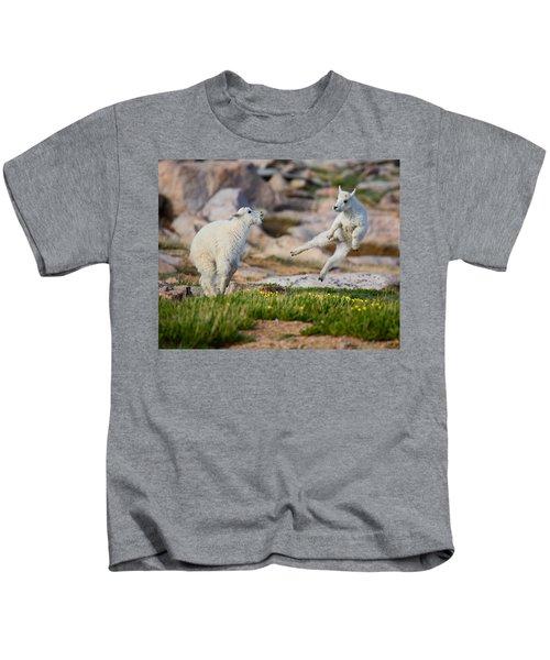 The Dance Of Joy Kids T-Shirt