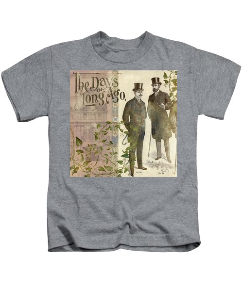 The Days Of Long Ago Kids T-Shirt