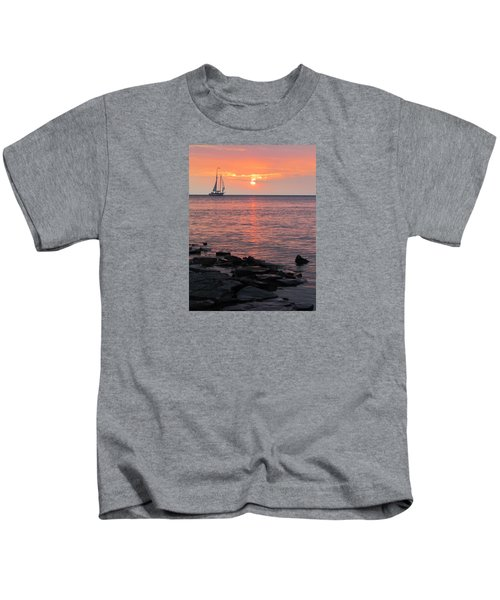 The Edith Becker Sunset Cruise Kids T-Shirt