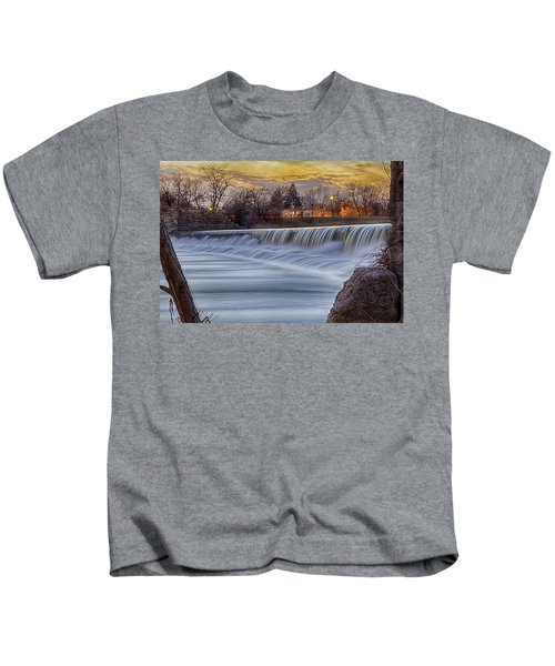 The Falls Of White River Kids T-Shirt