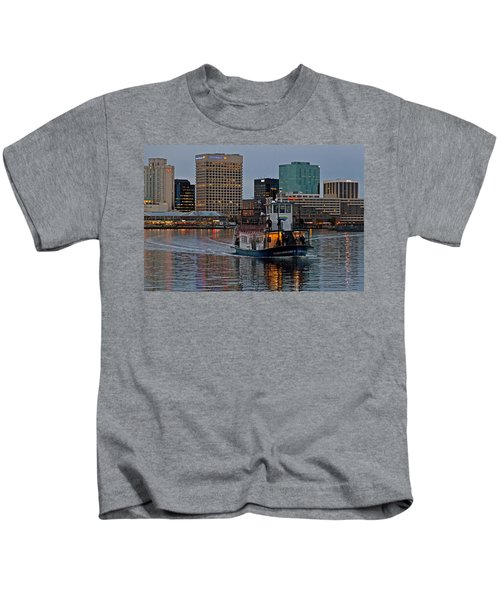 The Ferry To Portsmouth Kids T-Shirt