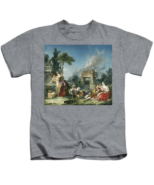 The Fountain Of Love Kids T-Shirt