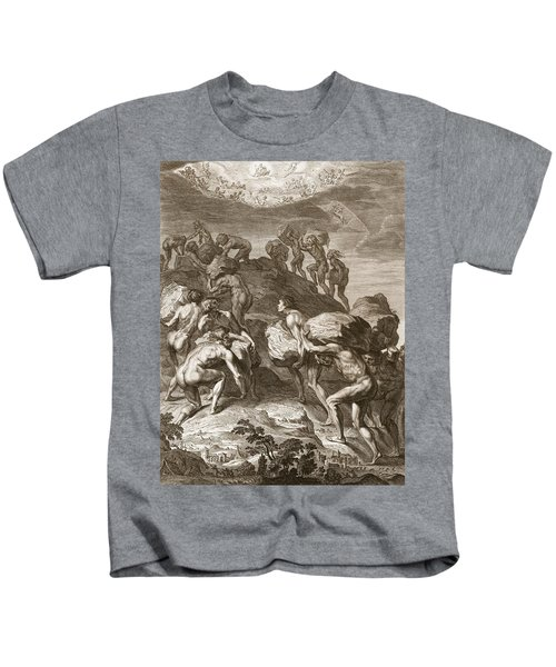 The Giants Attempt To Scale Heaven Kids T-Shirt