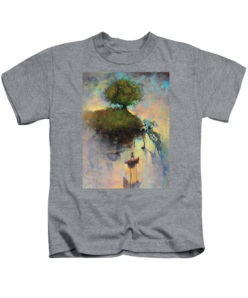 The Hiding Place Kids T-Shirt by Joshua Smith