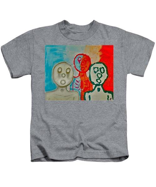 The Hollow Men 88 - Study Of Three Kids T-Shirt